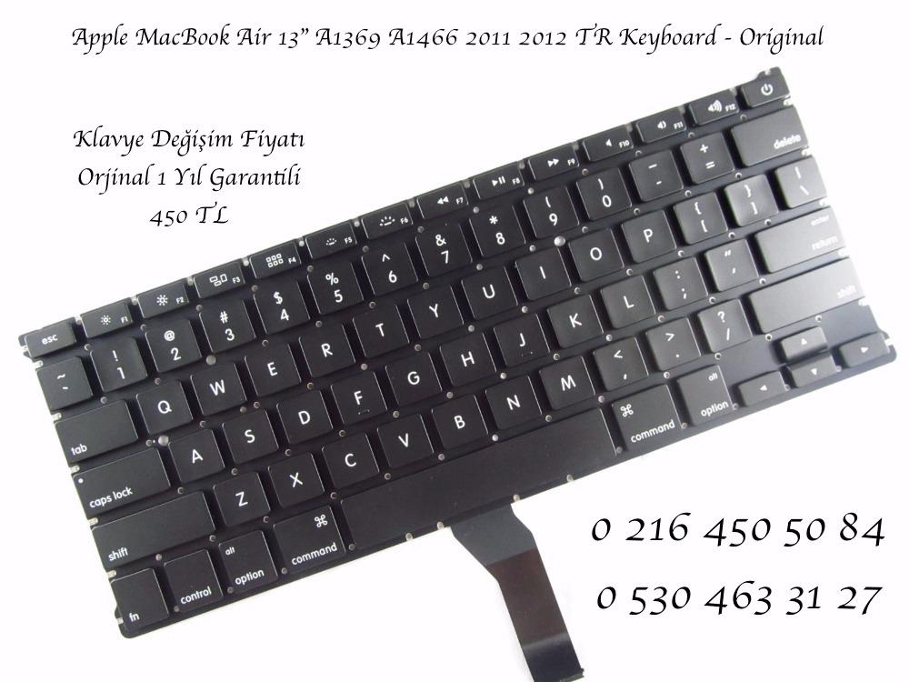 "Apple MacBook Air 13"" A1369 A1466 2011 2012 TR Keyboard - Original"