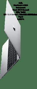 2.EL MacBook A1534 Kutusunda Ocak 2018 Garanti Bitiş Tarihi MB 12.0 Sılver/1.1Ghz/8Gb/256GbSsd Fiyatı 3,999TL