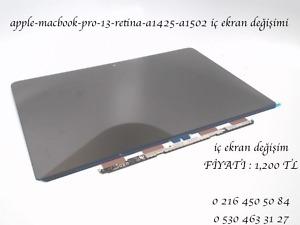 apple-macbook-pro-13-retina-a1425-a1502 iç ekran değişimi